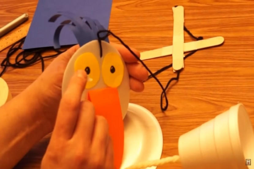 Puppetry workshop: BIRD ON STRINGS