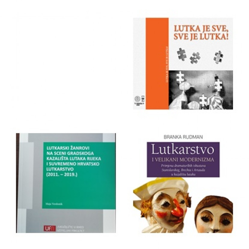 Books promotion: Branka Rudman: PUPPETRY AND THE MODERNIST GREATS; Maja Verdonik: PUPPETRY GENRES ON THE STAGE OF RIJEKA CITY PUPPET THEATRE AND CONTEMPORARY CROATIAN PUPPETRY (2011 – 2019);  Teodora Vigato: A PUPPET IS EVERYTHING, EVERYTHING IS A
