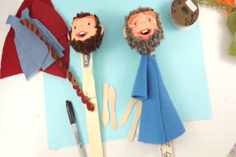Puppetry workshop: PUPPET MODELING
