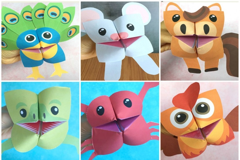 Puppetry Workshop for Children: ORIGAMI PUPPETS